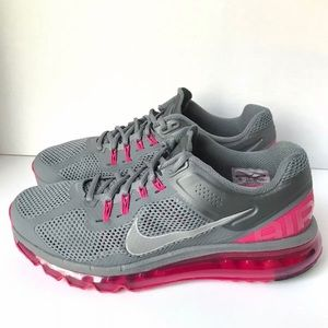 Details about NIKE Air Max FitSole GrayPink Running Athletic Shoes 555363 006 Women's 8.5